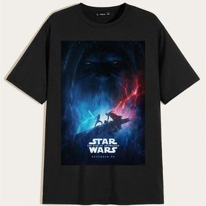 Star Wars The Rise Of Skywalker Black T Shirt